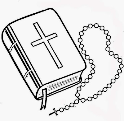 Free Printable Bible Coloring Pages Rosary