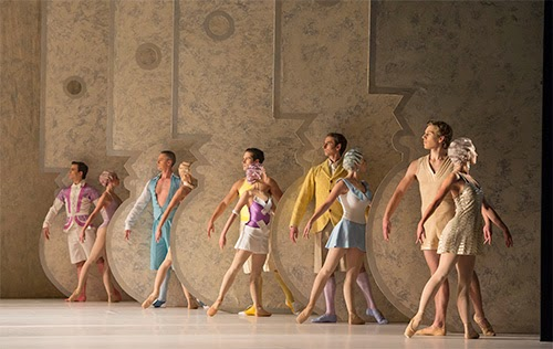 La Fin du Jour - Birmingham Royal Ballet - photo Bill Cooper
