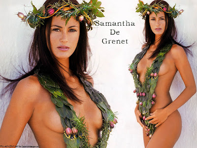 Samantha De Grenet Nude Wallpaper