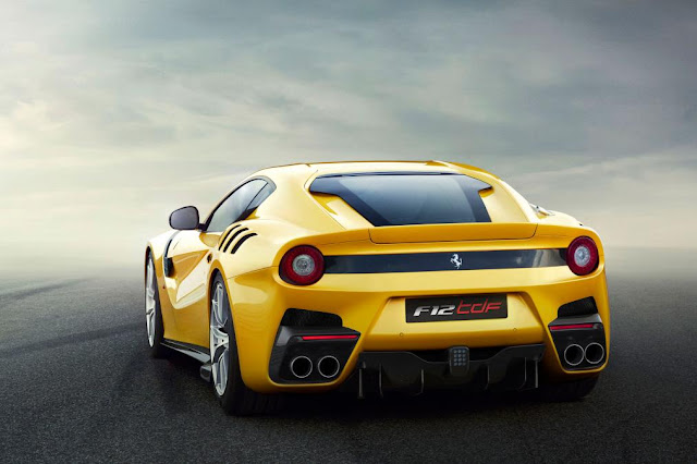 2015 Introduce Ferrari F12tdf Generation back view