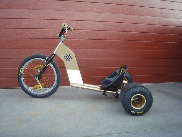 Велосипед трехколесный для дрифта своими руками