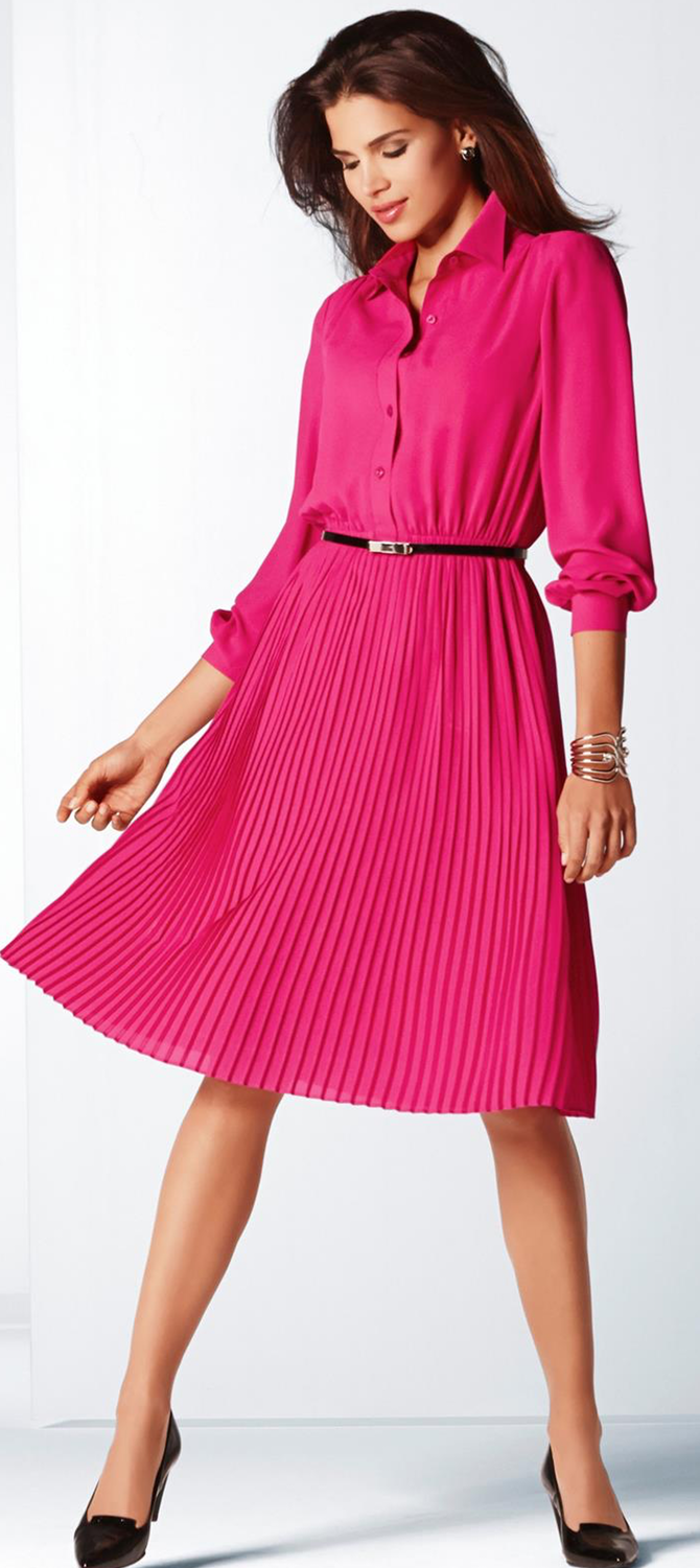 MADELEINE Pink Dress