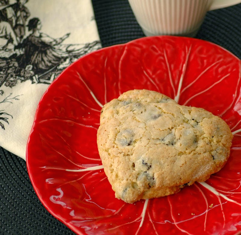 Dried Cherry Scones - Valentine's Breakfast Recipes — Dishmaps