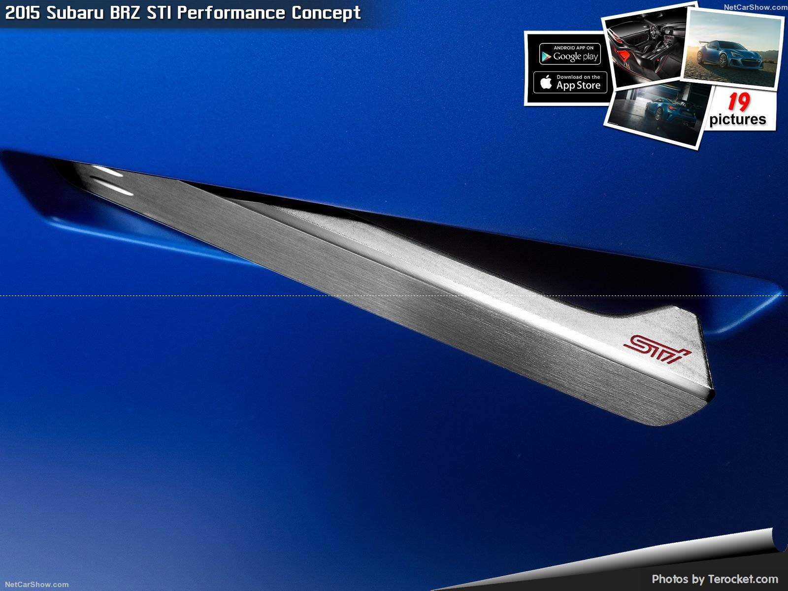 Hình ảnh xe ô tô Subaru BRZ STI Performance Concept 2015 & nội ngoại thất