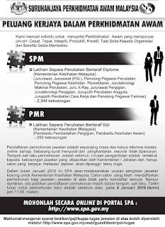 Latihan Separa Perubatan Minima SPM dan PMR
