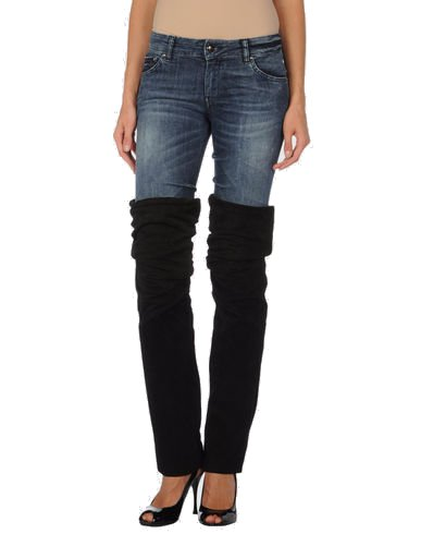 Unrange Valley Leg Warmers Over Jeans
