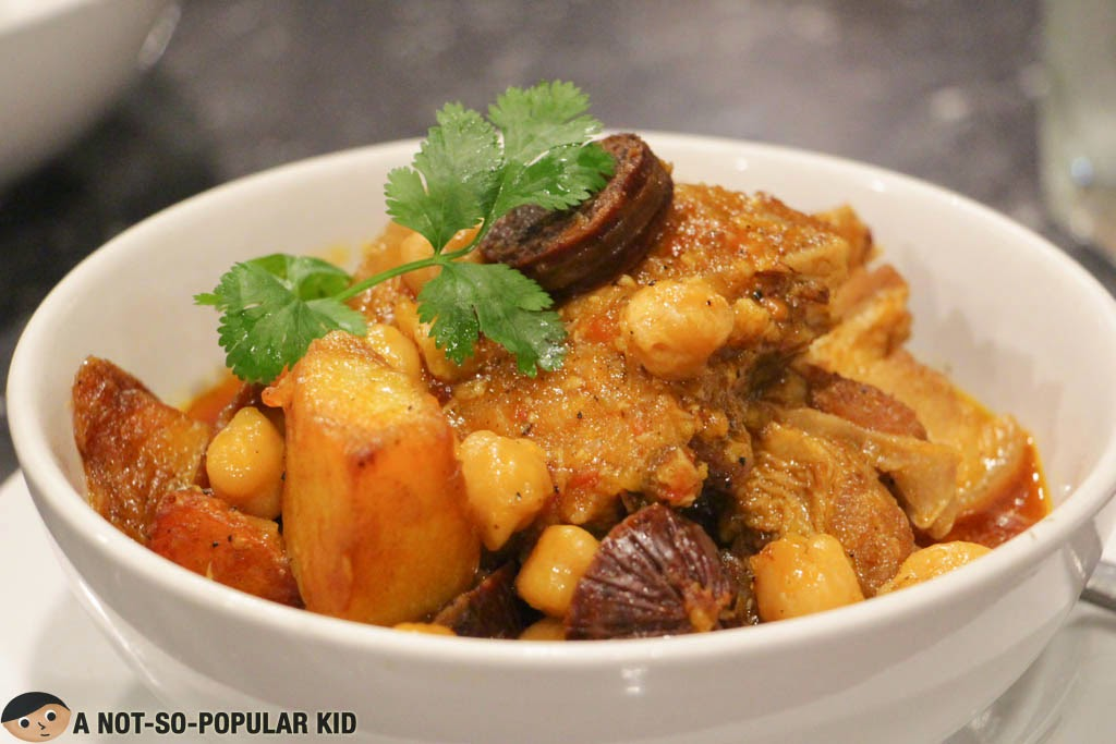 Pork Belly with Chorizo and Chickpeas - Pia Y Damaso