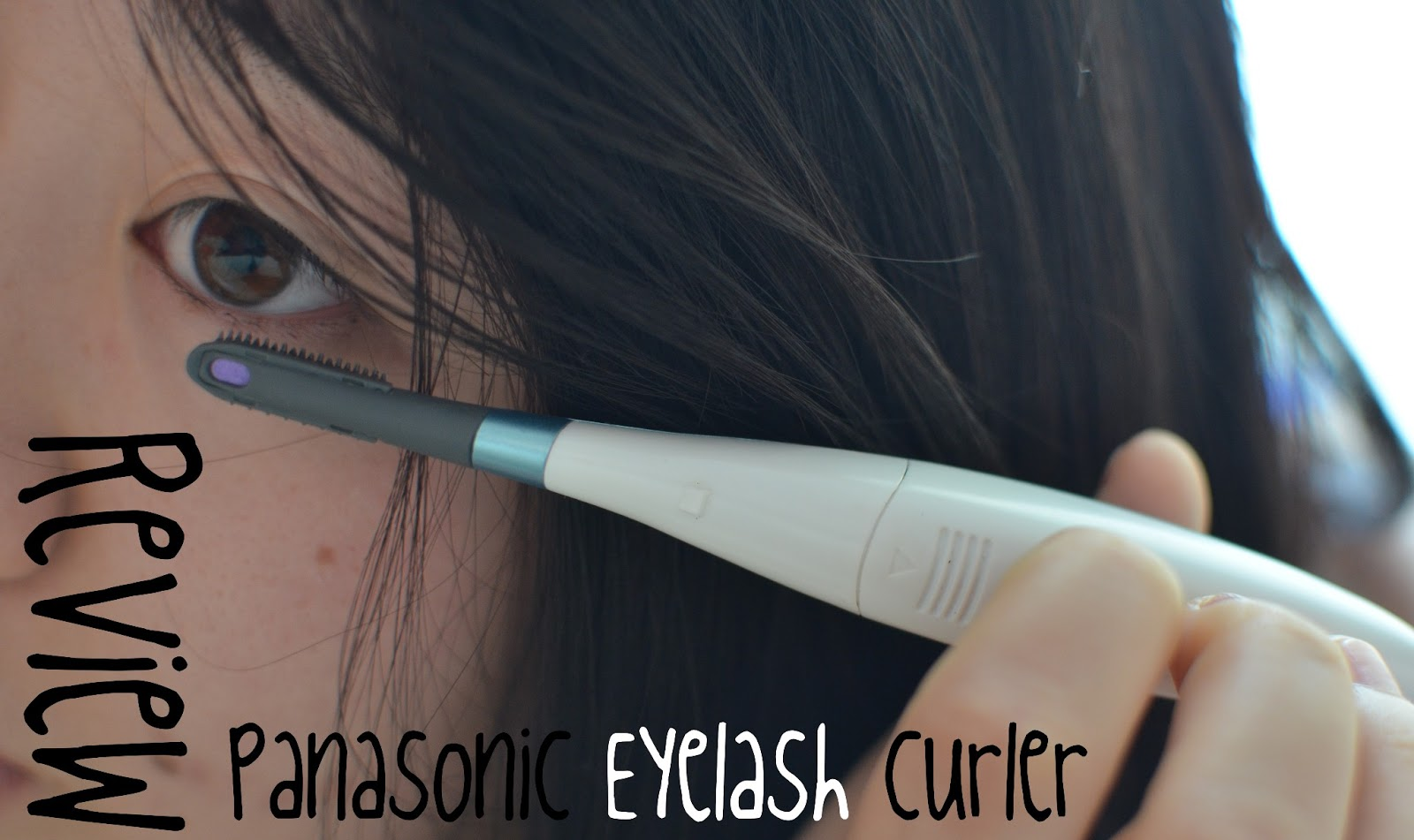 REVIEW] by M: Panasonic Heated Eyelash Curler | Made in Marcelle