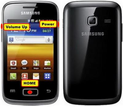 Cara Reset Samsung Galaxy young Duos S6102 Lupa pola kunci