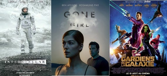 top 3 des films 2014