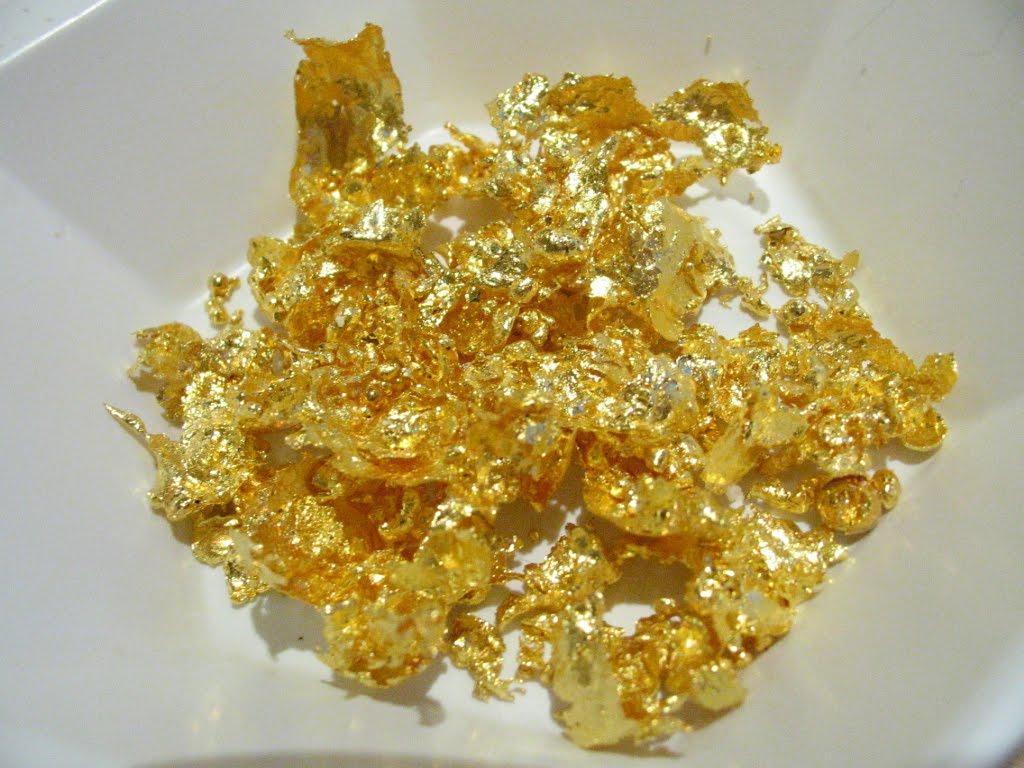 Золото из других металлов в домашних условиях
