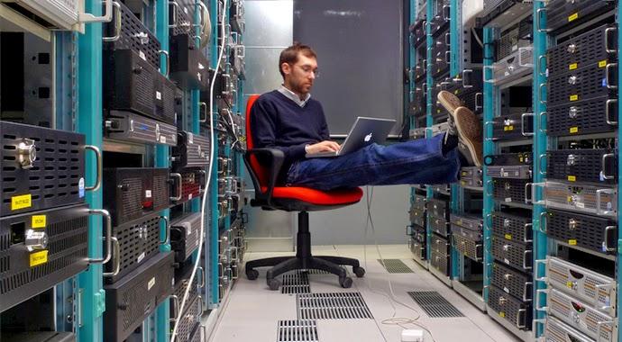 VPS server racks