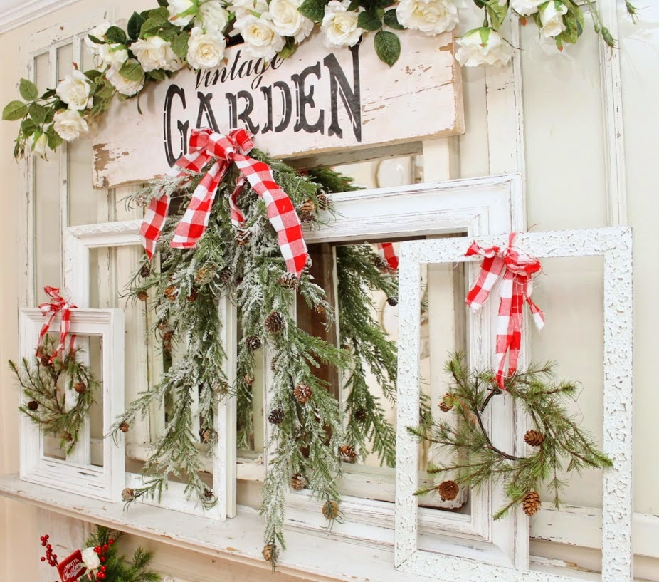 Nordic Farmhouse Christmas-Junk Chic Cottage-How I Found My Style Sundays Christmas Edition- From My Front Porch To Yours