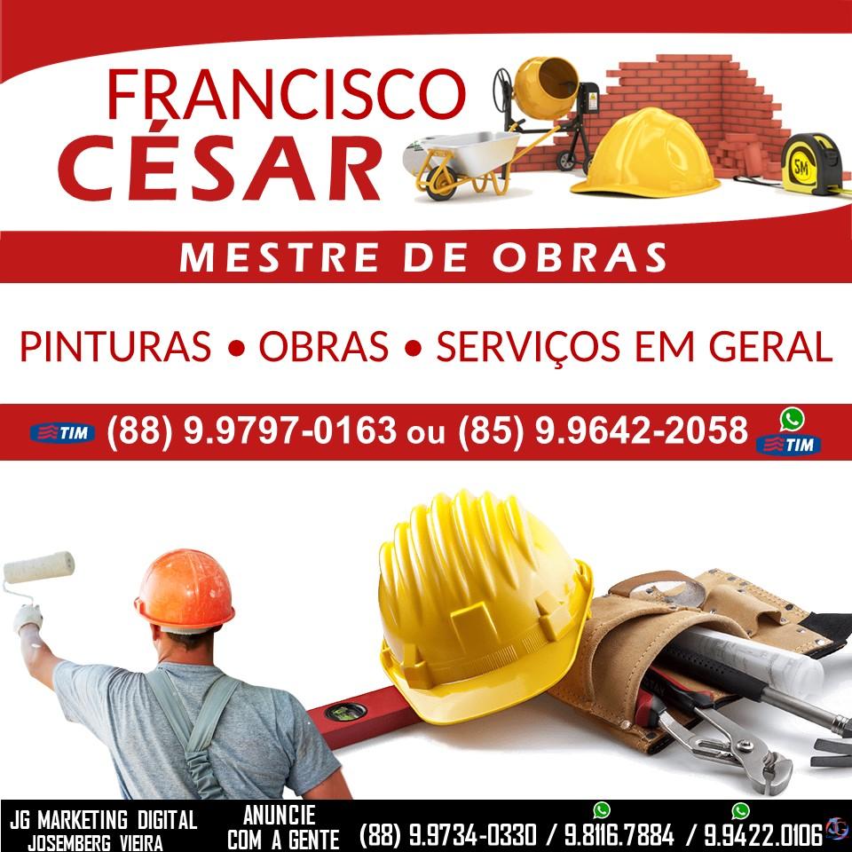 FRANCISCO CÉSAR MESTRE DE OBRAS