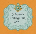 Yay! Winner at CraftyHands 28th March 2014