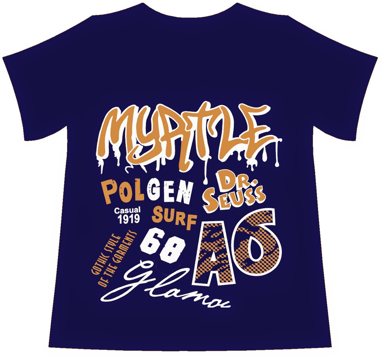 Myatle kids screen print design | Fashion Design, T-shirt Design ...