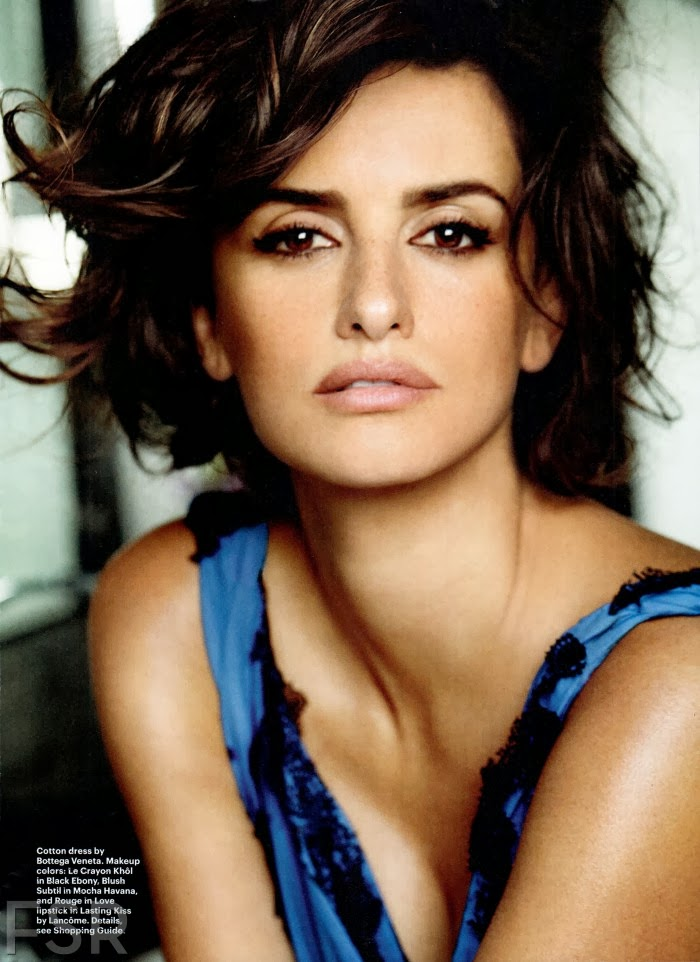 Magazine Photoshoot : Penelope Cruz Hot Pics and magazine Cover from Allure Magazine January 2014