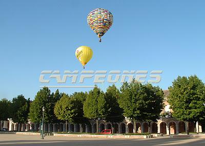 Regata de Aerostación en Aranjuez