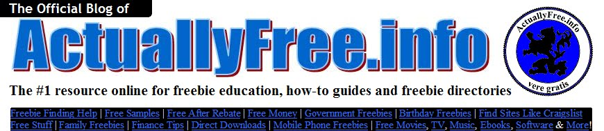 Official Blog of ActuallyFree.info