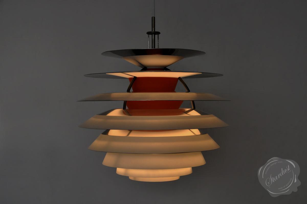 ph kontrast lamp white orange louis poulsen. Black Bedroom Furniture Sets. Home Design Ideas