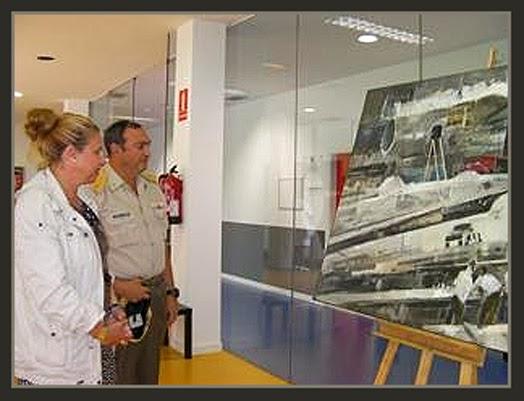 PINTURA-MILITAR-TORREJON DE ARDOZ-CONCEJALIA-CULTURA-MADRID-CUADROS-EJERCITO-AIRE-PINTOR-ERNEST DESCALS-