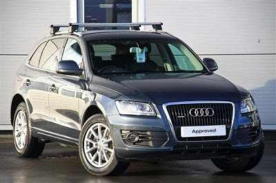 Front view Audi Q5 Hybrid