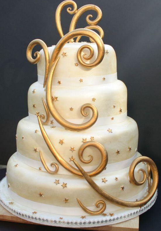 The Wedding Collections: Modern Wedding Cakes