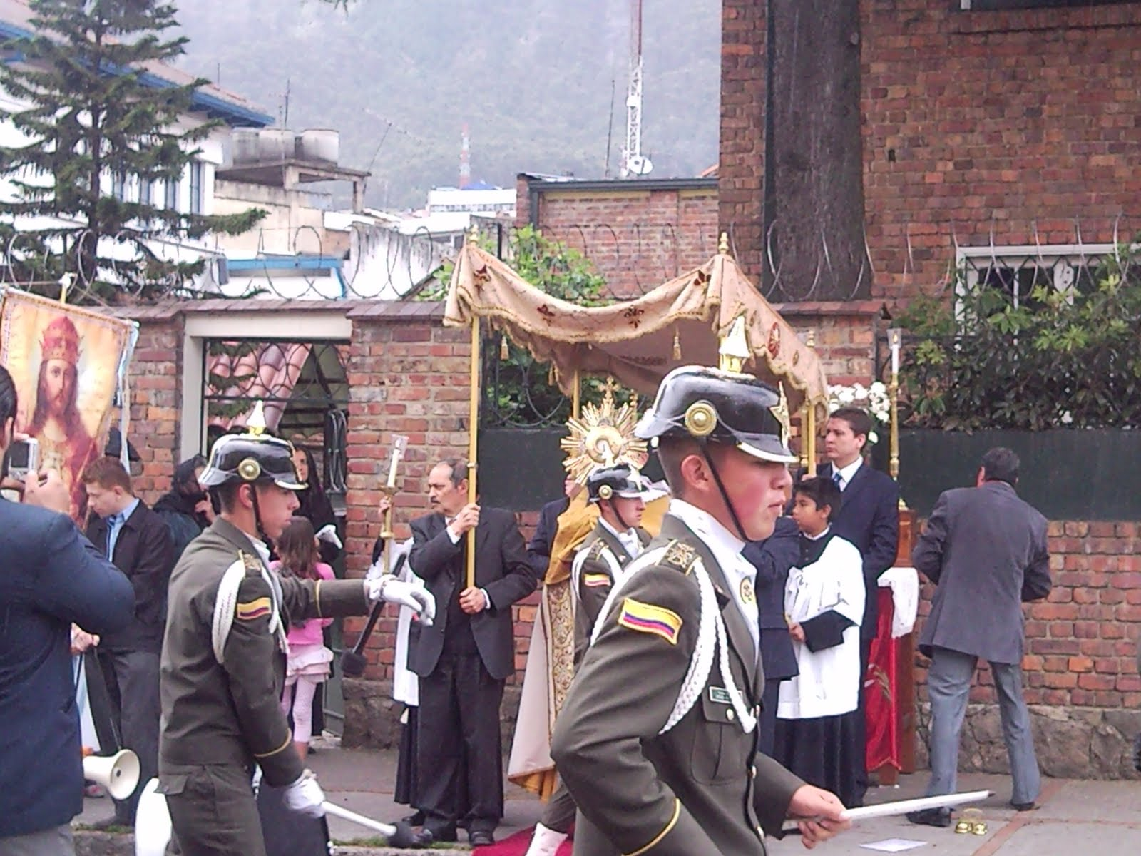 The Eponymous Flower SSPX in Santa Fé de Bogotá on Corpus Christi