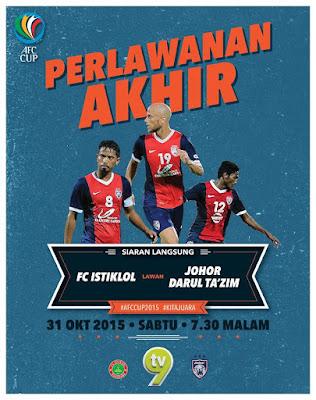 Istiklol Fc Vs Johor Final Afc Cup 2015