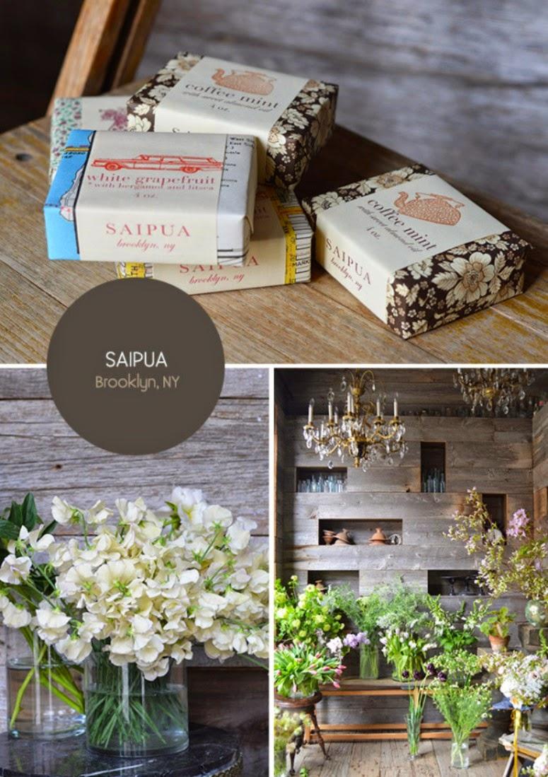 [Negocios bonitos] Flores y jabones artesanales en Saipua