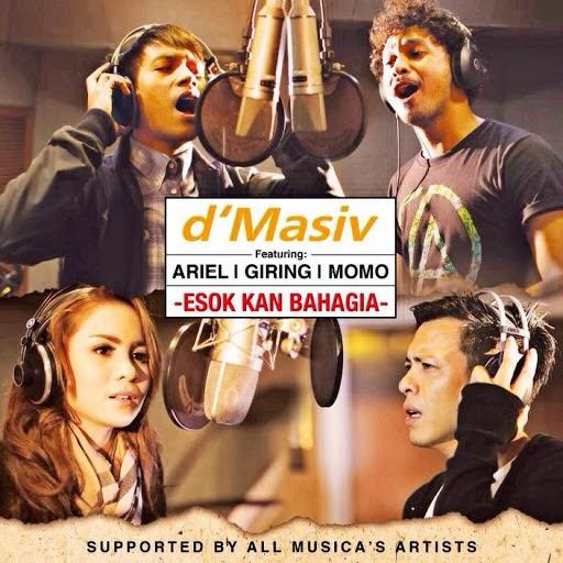 kunci gitar dan lirik lagu D'masiv, Ariel, Momo, Giring Esok Kan Bahagia