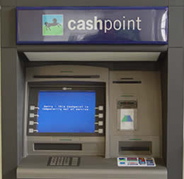 cash point card