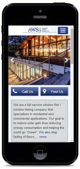 Advanced Window Solutions is now Mobile Friendly