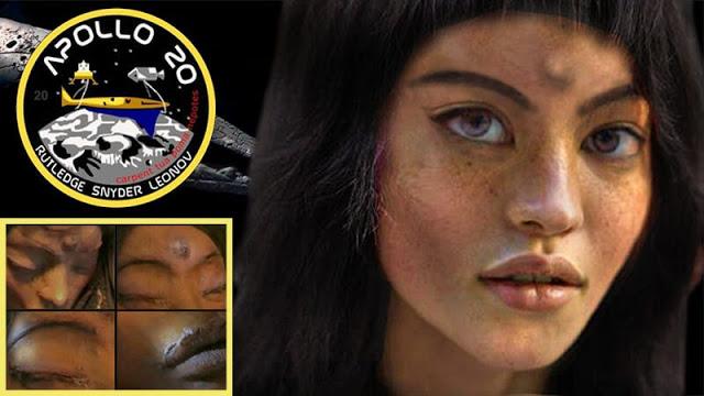 Μόνα Λίζα - Η ανθρωποειδής εξωγήινη που βρέθηκε από τον Απόλλων 20