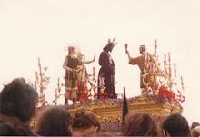 Nuestro Padre Jesús Cautivo, año 1985 o 1986.