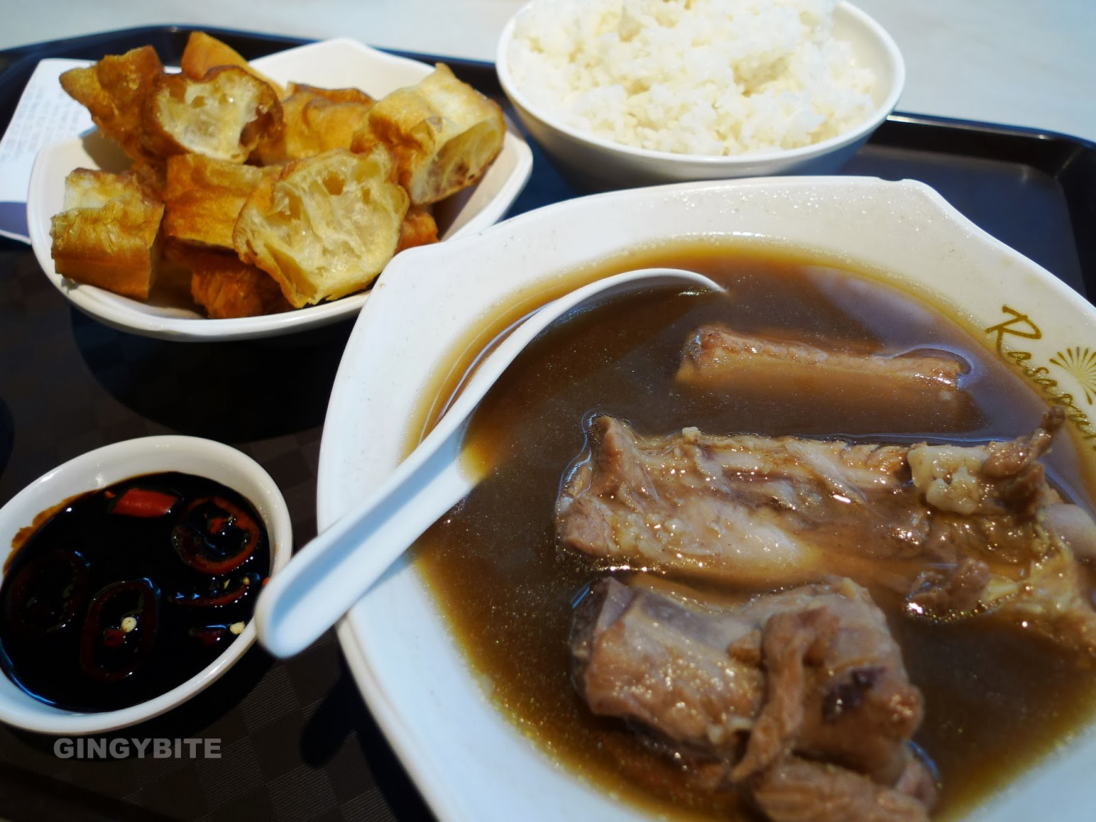 Signature Spare & Pork Ribs Combo Soup