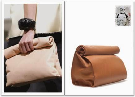 Clon paper bag Celine