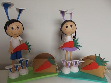 Menino Coelho e Menina Coelha