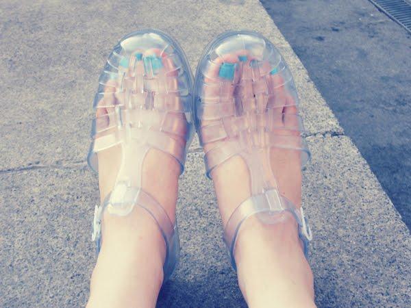 Xuxa Jelly Sand... Xuxa Jelly Sandals