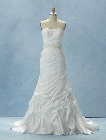 Disney fairy tale weddings by alfred angelo 2012 gown for Wedding dress disney collection