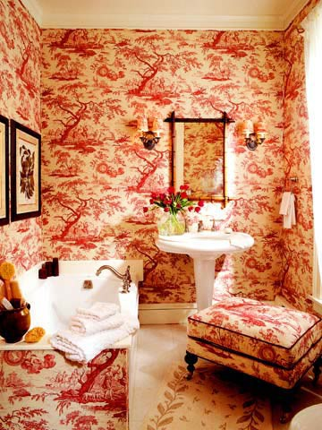 Fabulously french i toile de jouy - Toile de jouy decoration ...