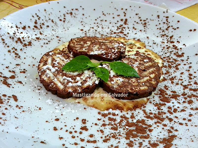 La Lupa Restaurante: Salame de Chocolate
