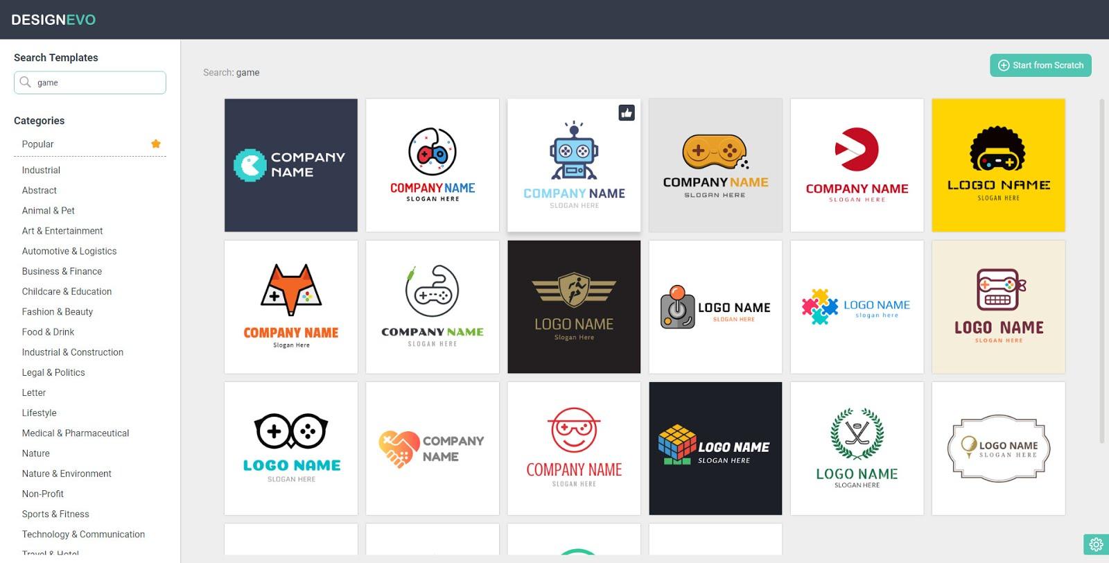 How To Create Free Logo Online 100 Free Designevo Review
