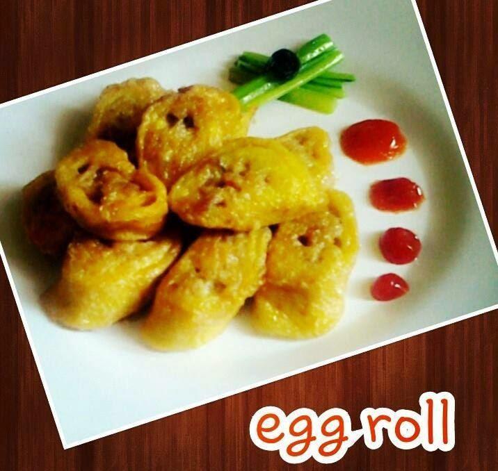 Resep Ayam Egg Roll