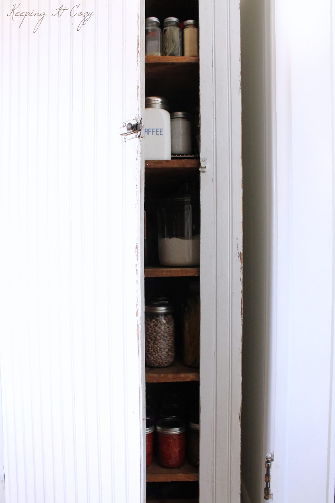 keeping it cozy organizing a pantry