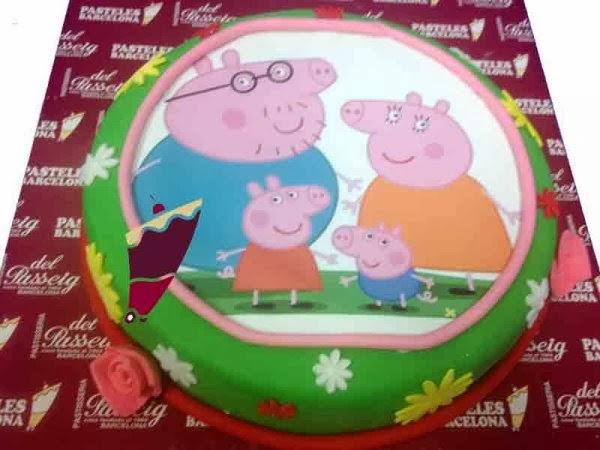 Tortas Peppa Pig, parte 3