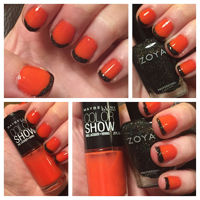 My 2014 in nails, #ManiMonday, Mani Monday, manicure, nails, nail polish, nail lacquer, nail varnish, Halloween nail art Zoya Maybelline