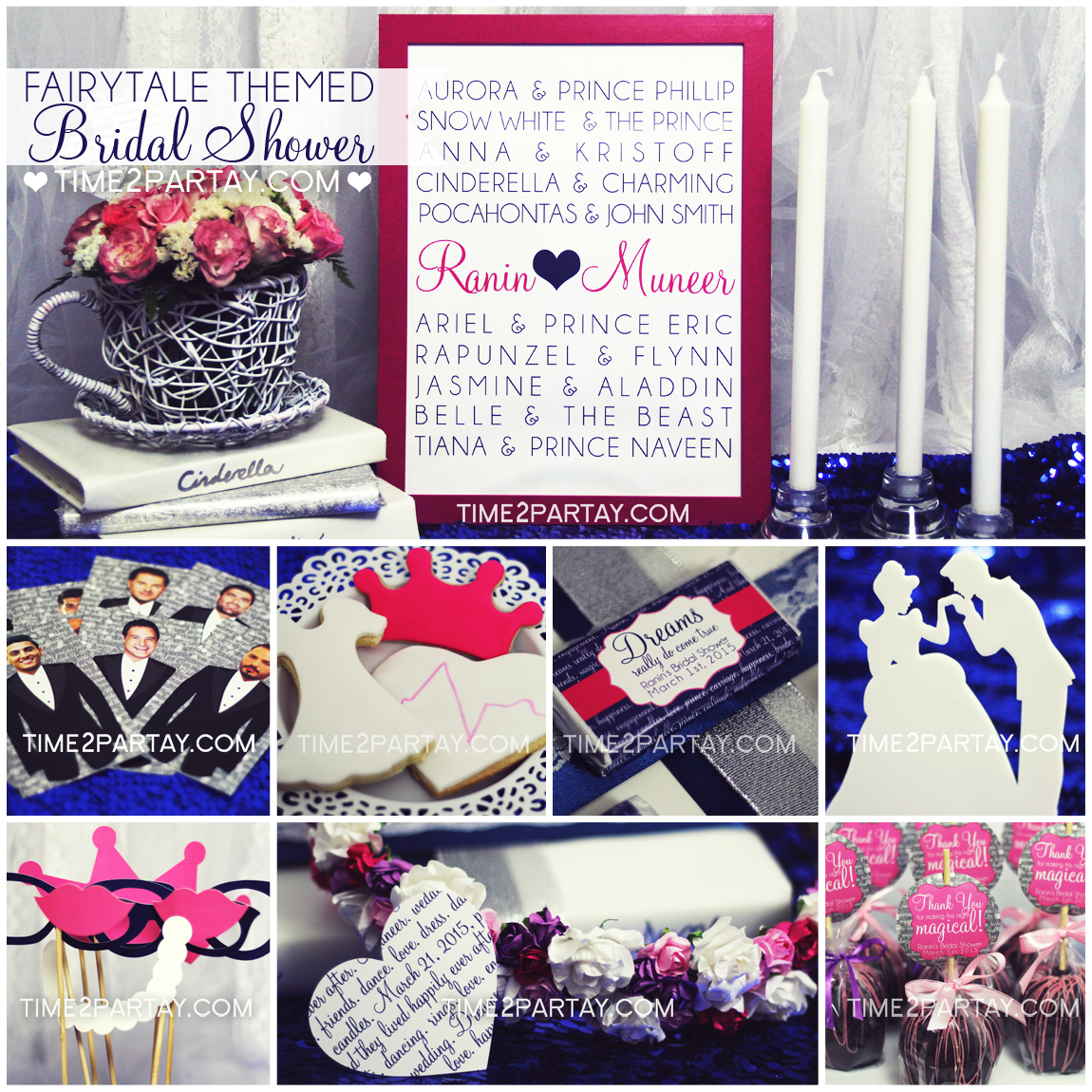 every couples love story is a unique fairytale and every bride deserves to feel like a princess this bride to be didnt expect her bridal shower to be