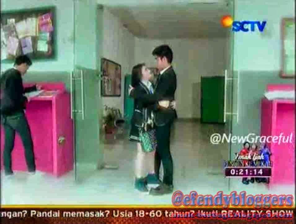 Foto Romantis Digo Dengan Sissy Di GGS SCTV
