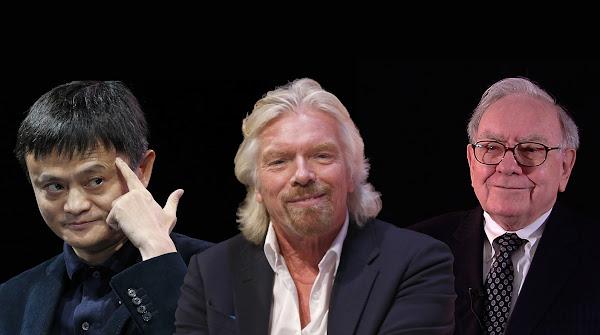 Exitosos empresarios